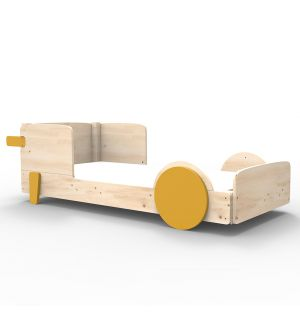 Discovery 1 Single Bed in Ochre