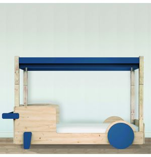 Discovery 1 Canopy Bed in Atlantic Blue