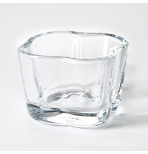 Alvar Aalto Collection Tealight Holder in Clear