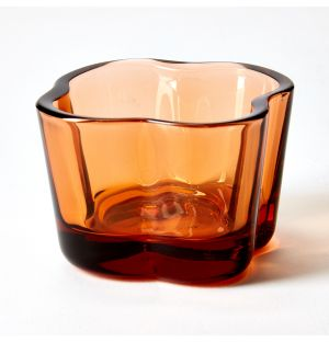 Alvar Aalto Collection Tealight Holder in Seville Orange