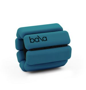 Weighted Exercise Bracelets in Deep Blue