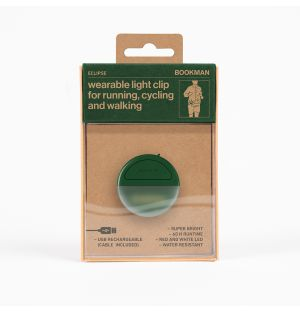 Eclipse Wearable Light Clip in Green