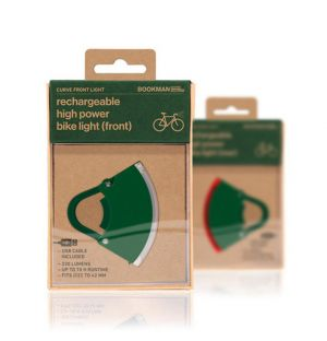 Curve Front Light 3 in Green