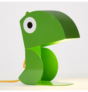 Parrot Lamp in Green