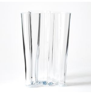 Alvar Aalto Collection Vase in Clear 251mm