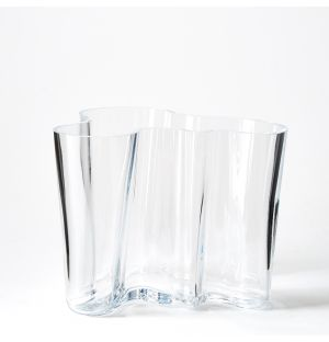 Alvar Aalto Collection Vase in Clear 160mm