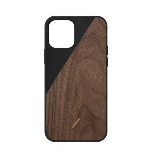 Clic Wooden iPhone 12 Pro Case in Black