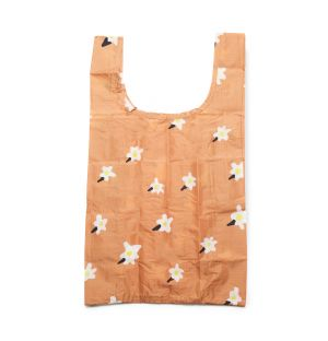 Small Reusable Tote Bag in Painted Daisy