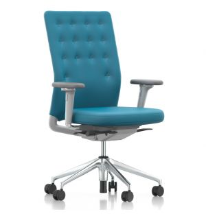 ID Trim Office Chair in Ice Blue & Grey