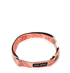 Large Lola Collar in Coral