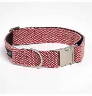 Large Scoot Collar in Scarlet