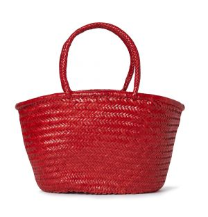 Triple Jump Market Bag in Red