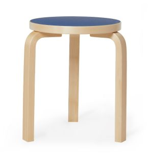 Exclusive Stool 60 in Linoleum & Natural Lacquered Birch