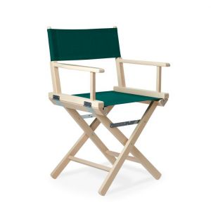 Director's Chair in White Stained Beech