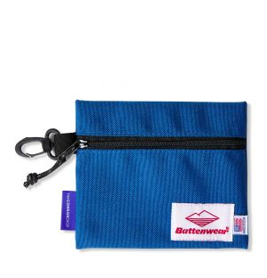 Exclusive Zip Pouch in Royal Blue