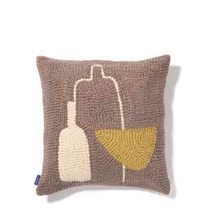 Cochato Cushion Cover in Taupe 45cm x 45cm