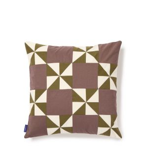Yocona Cushion Cover in Taupe 45cm x 45cm