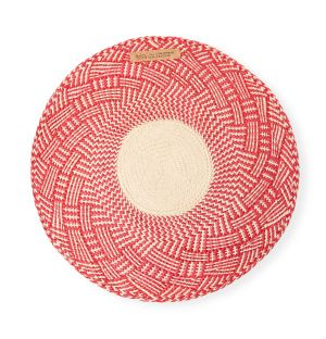 Narino Placemats in Scarlet Red Set of 4