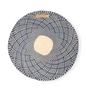 Narino Placemats in Midnight Blue Set of 4