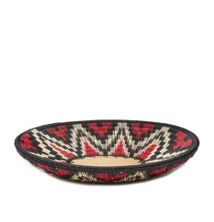 Werregue Woven Plate in Armadillo Red