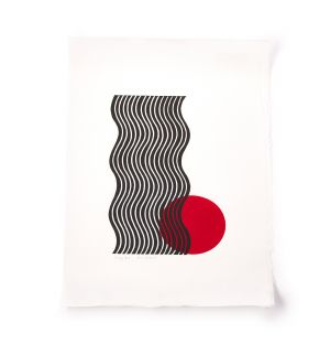 Exclusive Standing Red Print