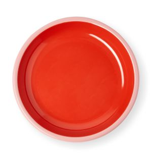 Plate in Coral & Soft Pink