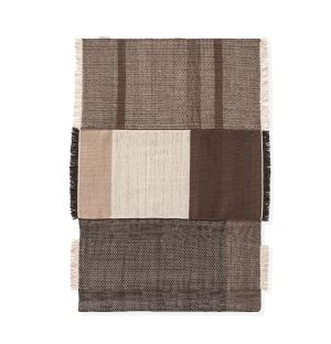 Tres Outdoor Rug in Chocolate