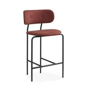 Coco Counter Chair in Rust