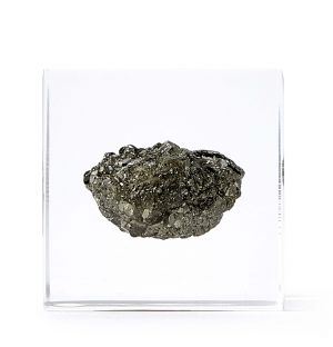 Pyrite Mineral Cube