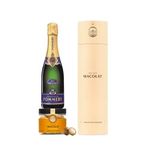 Exclusive Salted Caramel Macolat & Pommery Grand Cru Royal Gift Set