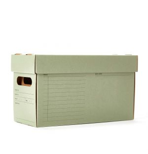 A7 Archive Box in Green