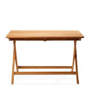 Ex-Display Folding Outdoor Bistro Table in Teak 120cm