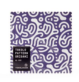 Tokolo Origami Paper in Red & Blue