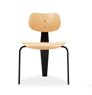 Ex-Display SE42 Dining Chair in Beech & Black