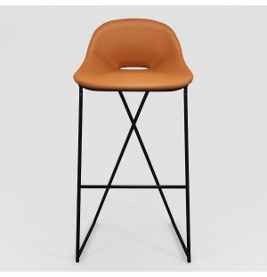 Cross Leg Bar Stool