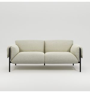 Fold Indoor 2-Seater Sofa with Arms