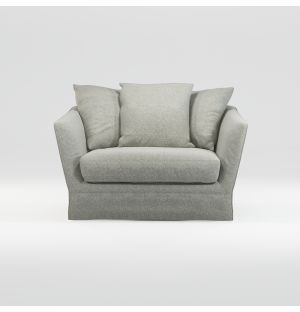 Menton 1.5-Seater Loose Cover Sofa
