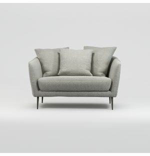 Menton 1.5-Seater Fixed Cover Sofa