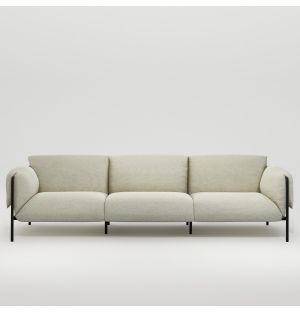 Fold Indoor 3-Seater Sofa with Arms