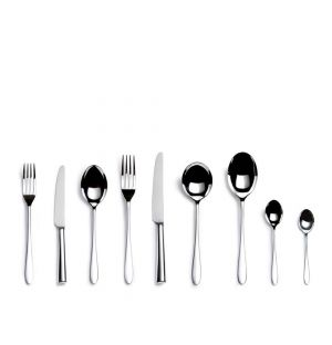 44-Piece Pride Cutlery Set in Stainless Steel