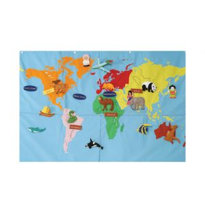 Discover The World Map