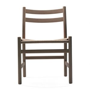 CH47 Side Chair Soaped Oak & Natural Cord