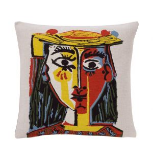 Picasso 'Head of a Woman in a Hat' Cushion Cover 45cm x 45cm