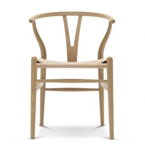 CH24 Wishbone Chair Wooden Frame & Natural Paper Cord Seat