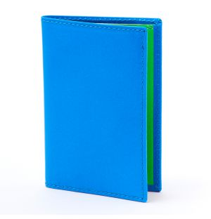 Super Fluo Wallet Blue