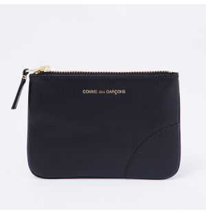 Classic Corner Purse in Black