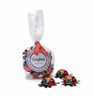Milk Chocolate Busy Ladybird Cube