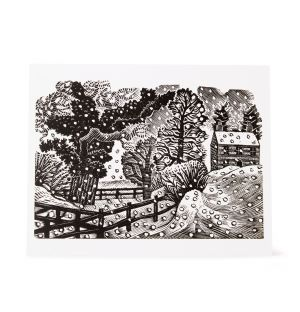 Considerable Falls of Snow Greetings Cards Set of 5