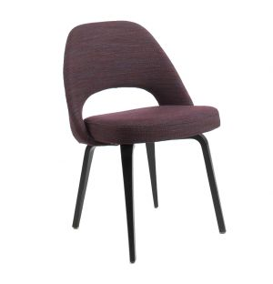 Saarinen Conference Chair Rivington Fabric & Ebony Oak Legs