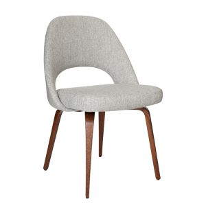 Saarinen Conference Chair Hallingdal Fabric & Walnut